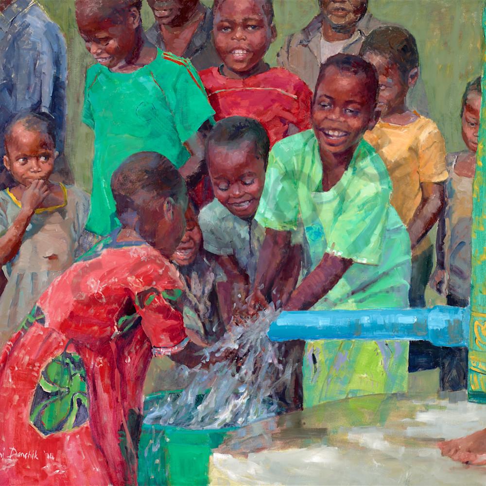 2014 wells of life   joys of fresh water 36 x 48asf piskdj