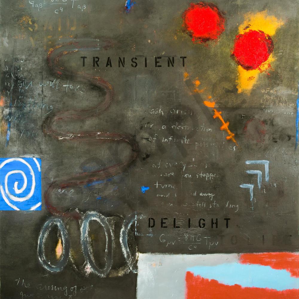 Transient delight oil canvas 66x60  lighter u5a3du