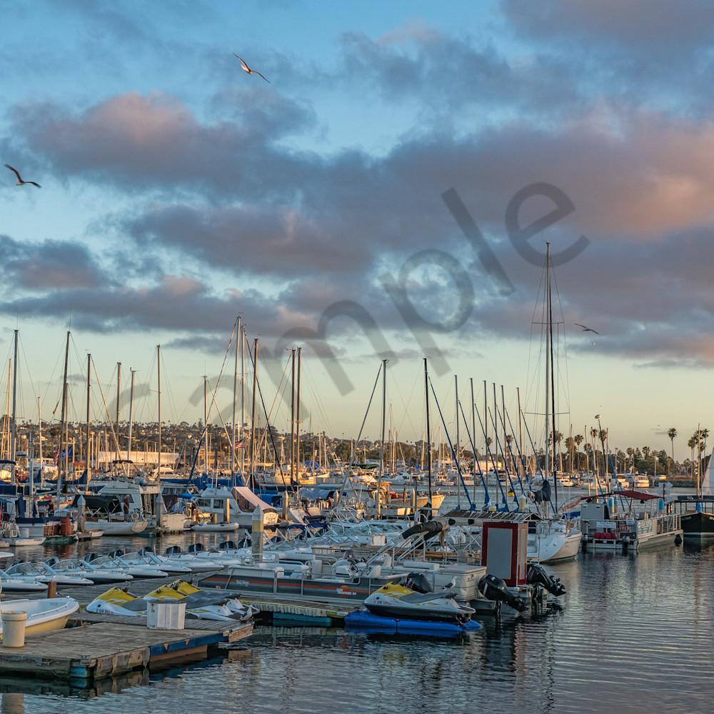 San diego marina sunset qos1h4
