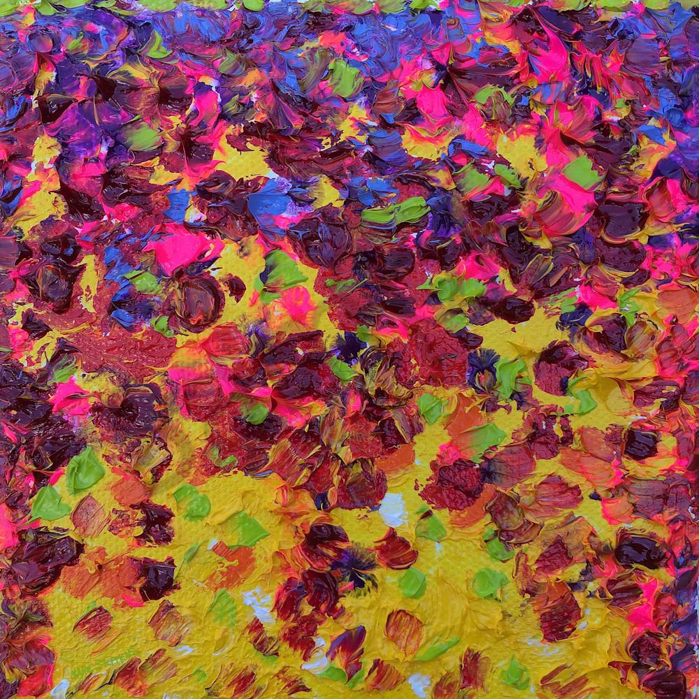 Zinnia petal up close by marie stephens art ujw7p7