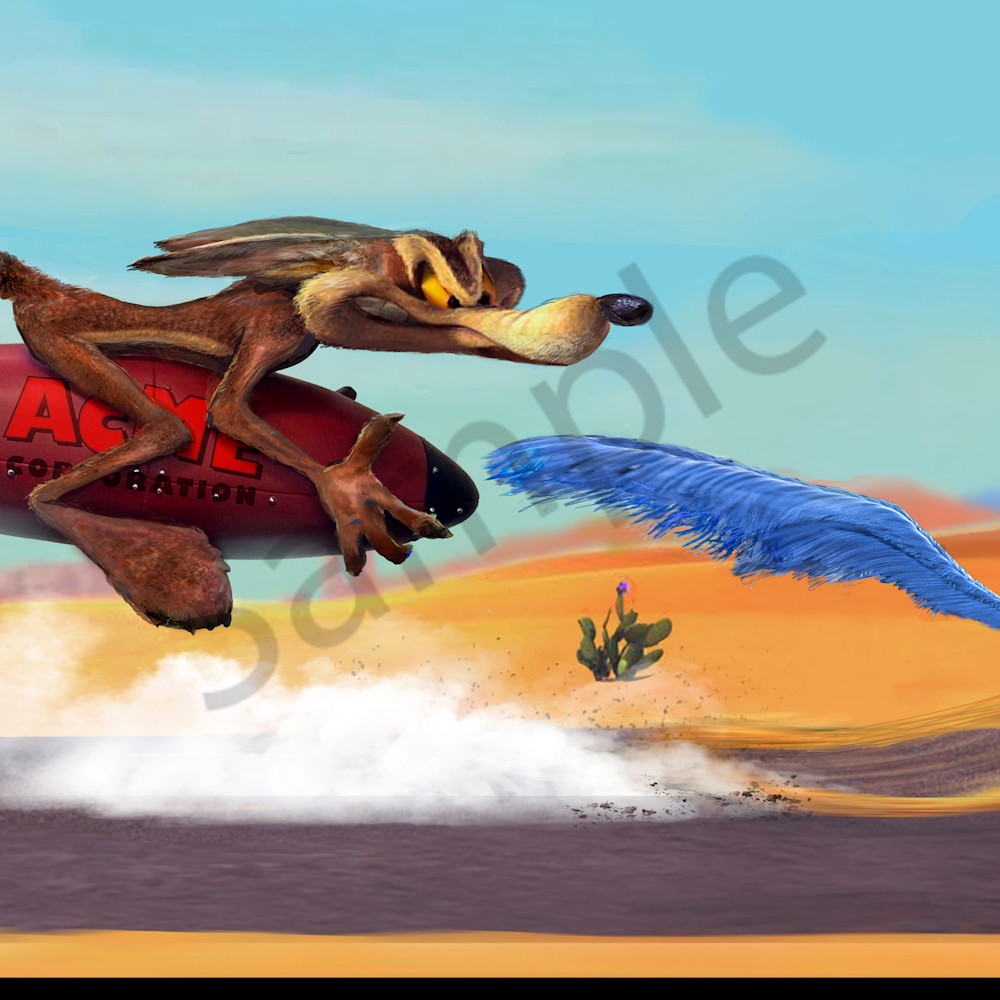 Wile e. coyote genius obhqir