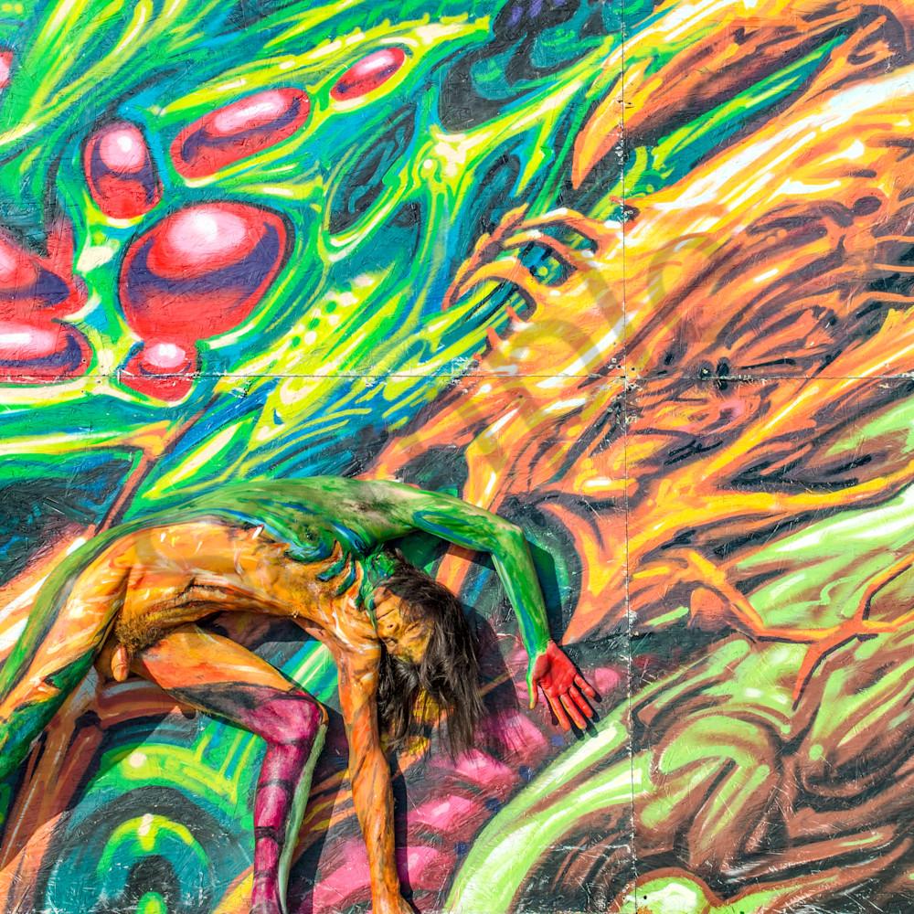 2016 fractal.beach.mural florida fje8bh