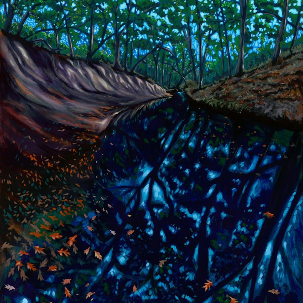 Into the creek 36x48 150 dpi gccv7f