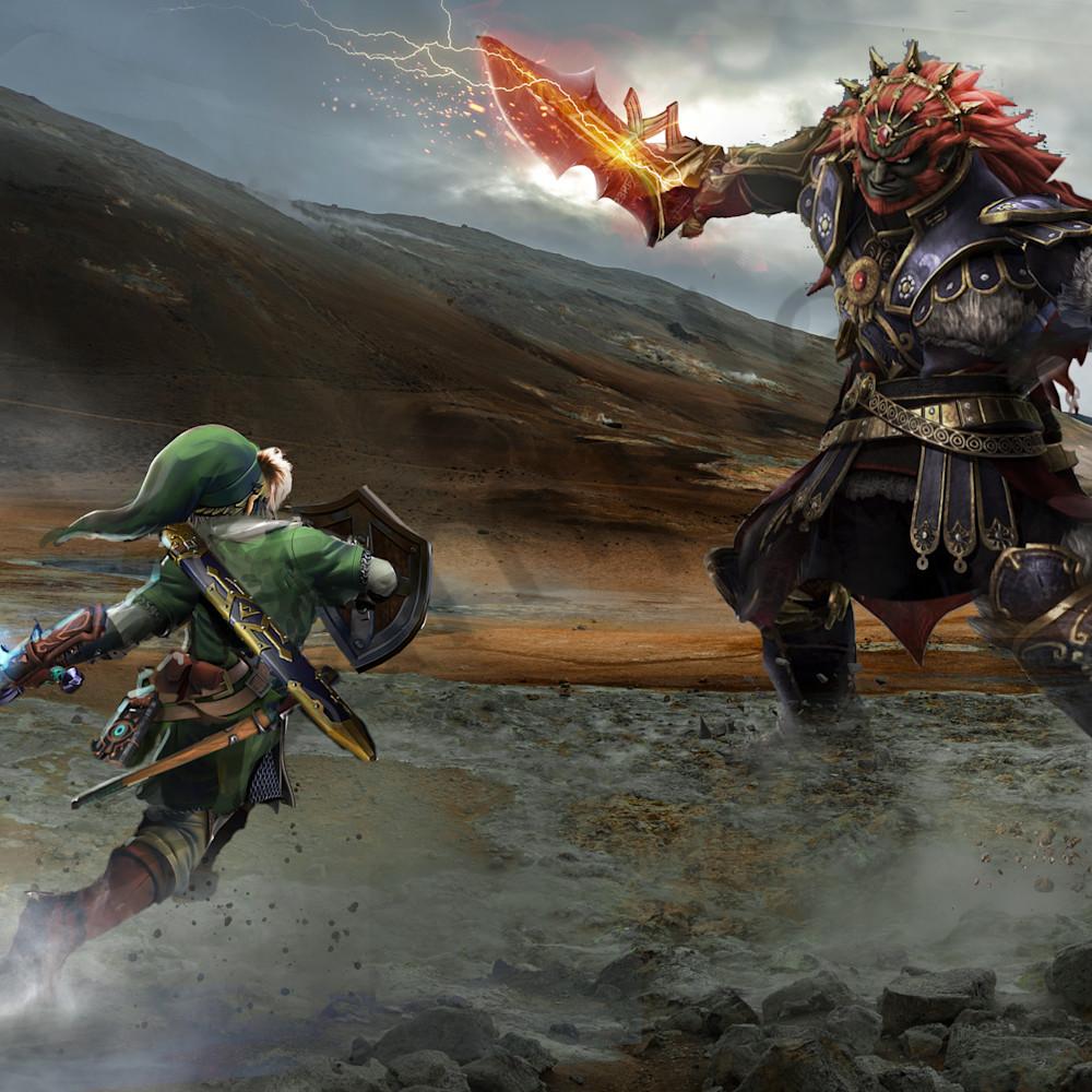 Link vs ganondorf g6mh5t