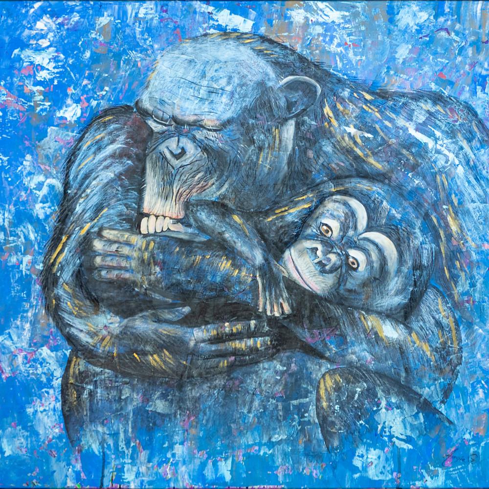 Monkey by angela gu%cc%88nther fnejqf