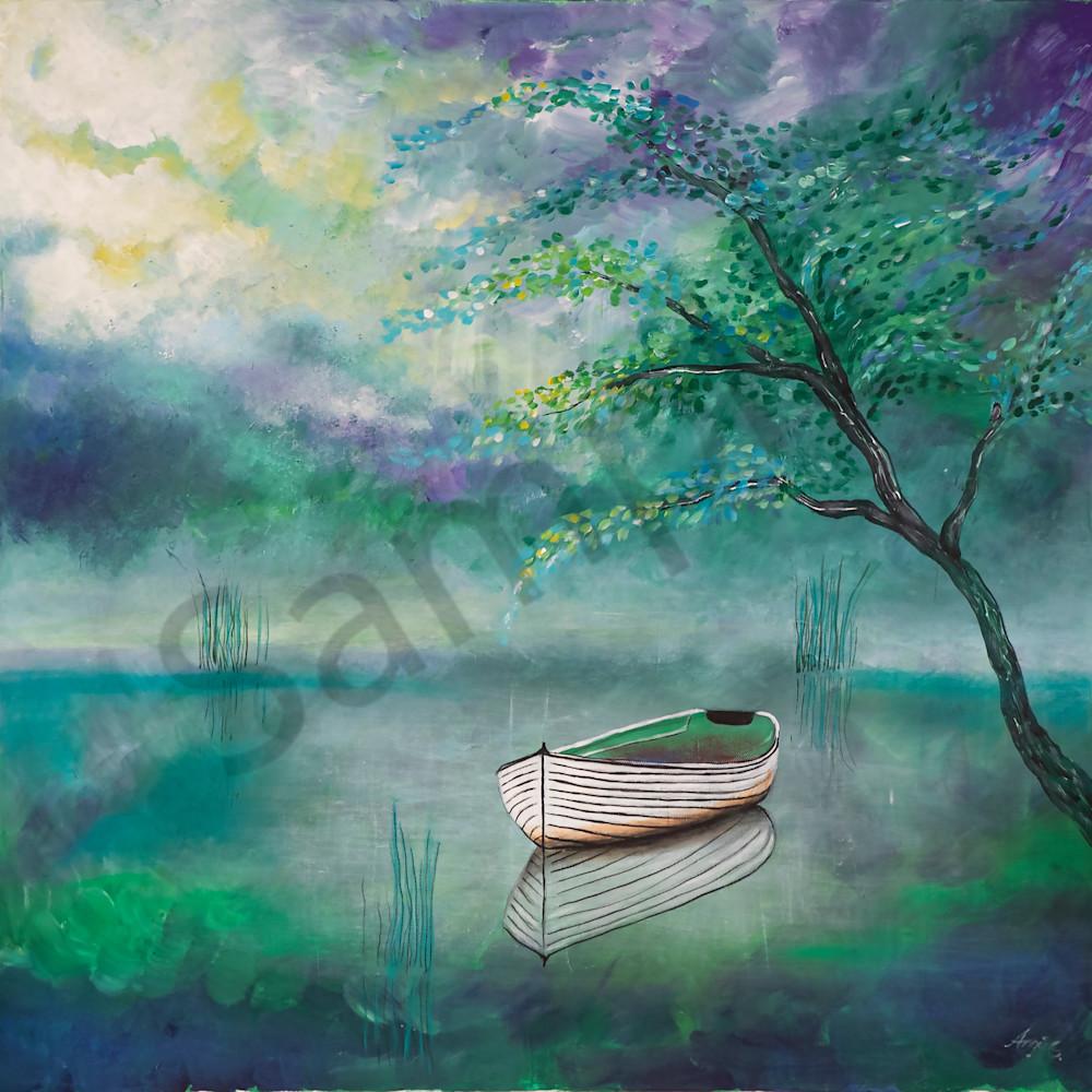 Lake boat by angela gu%cc%88nther aao3dn
