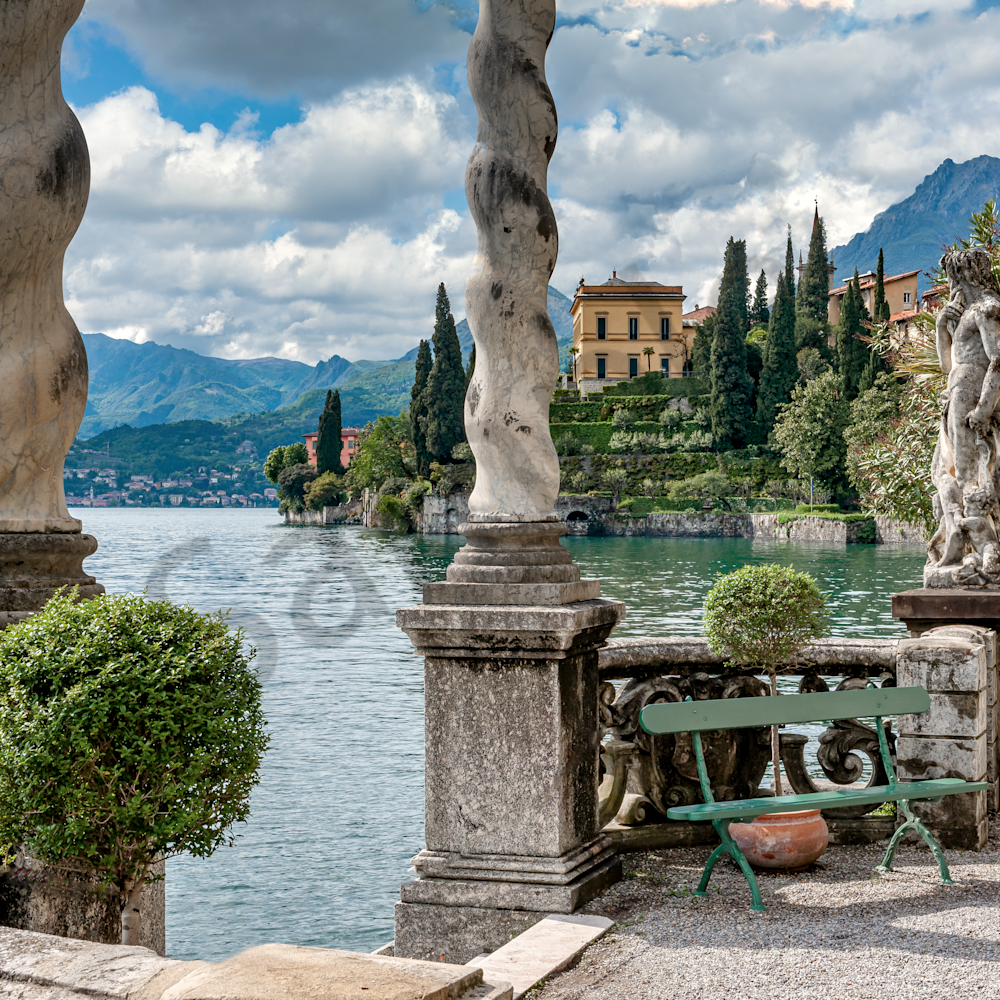 Villa varenna with columns lake como mx9yt1