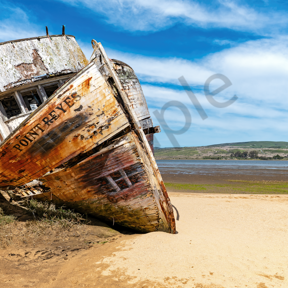 Point reyes abandoned boat ii inverness ca x8opkw