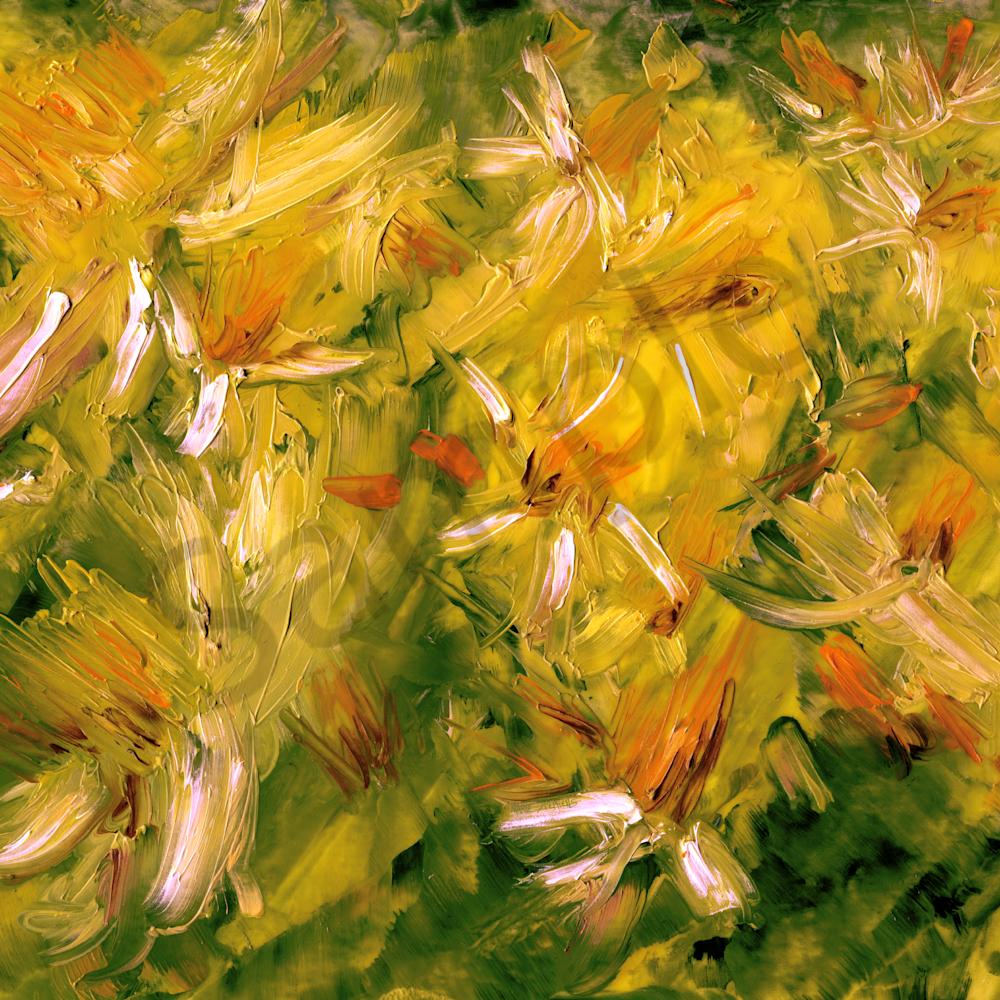 Daffodils palette knife plein air 18x24 300dpi copy pisxcn