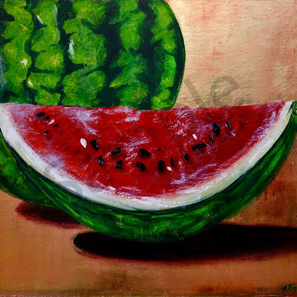 Watermelon slice evlwod