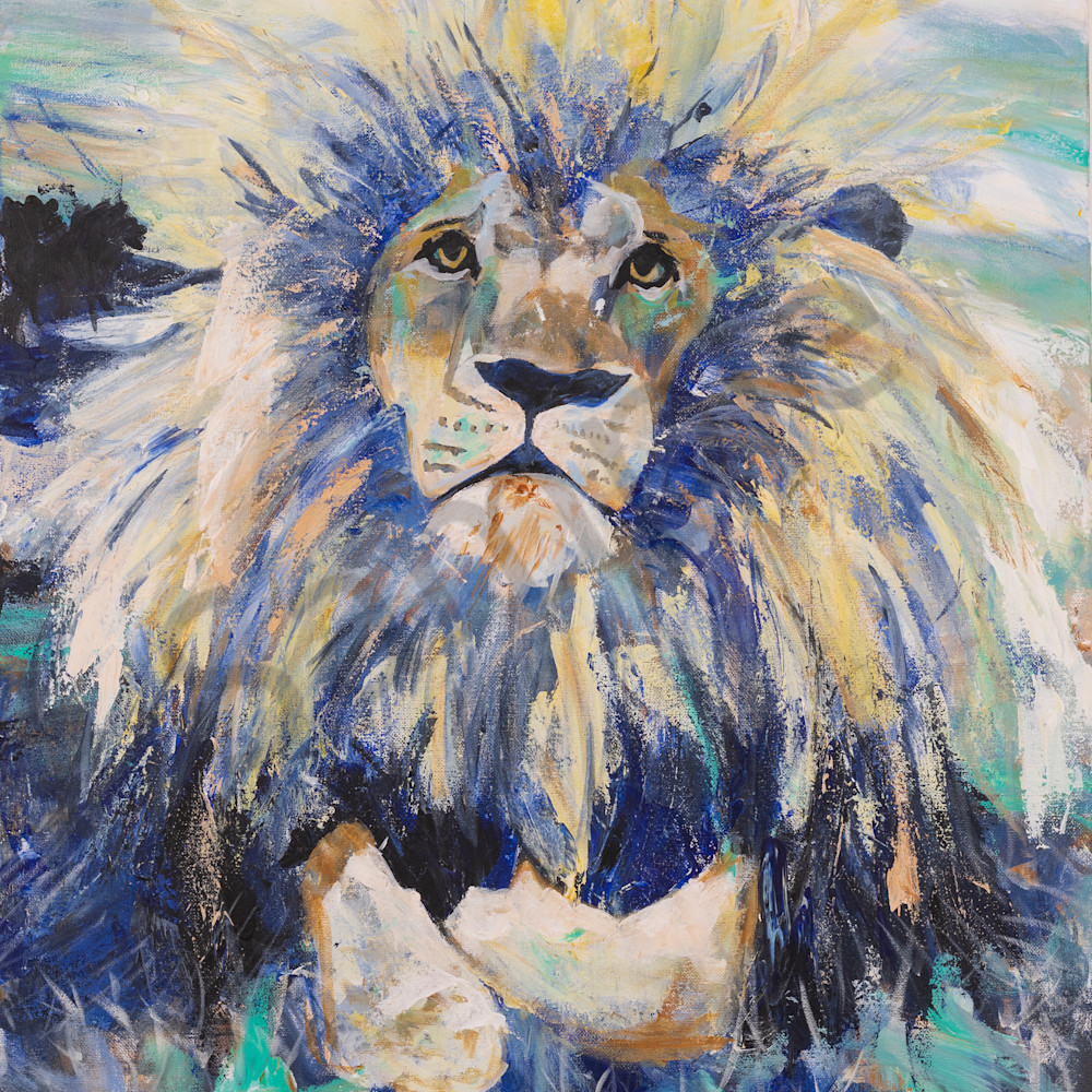 Julianna s lion by hannah hopkins vn6wzh