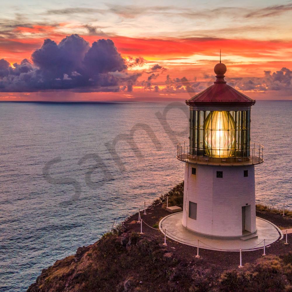 Makapuu lighthouse dawn pt158 buacnj