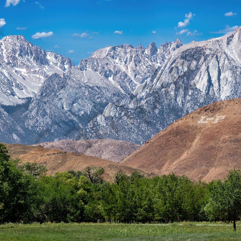 Ansel adams picture in lone pine california i12fw4
