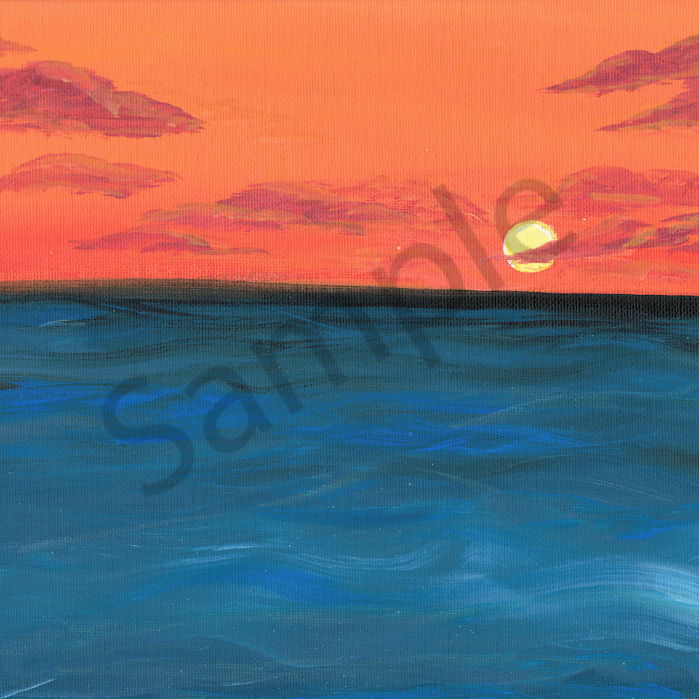 Simple sunset xv4fjk