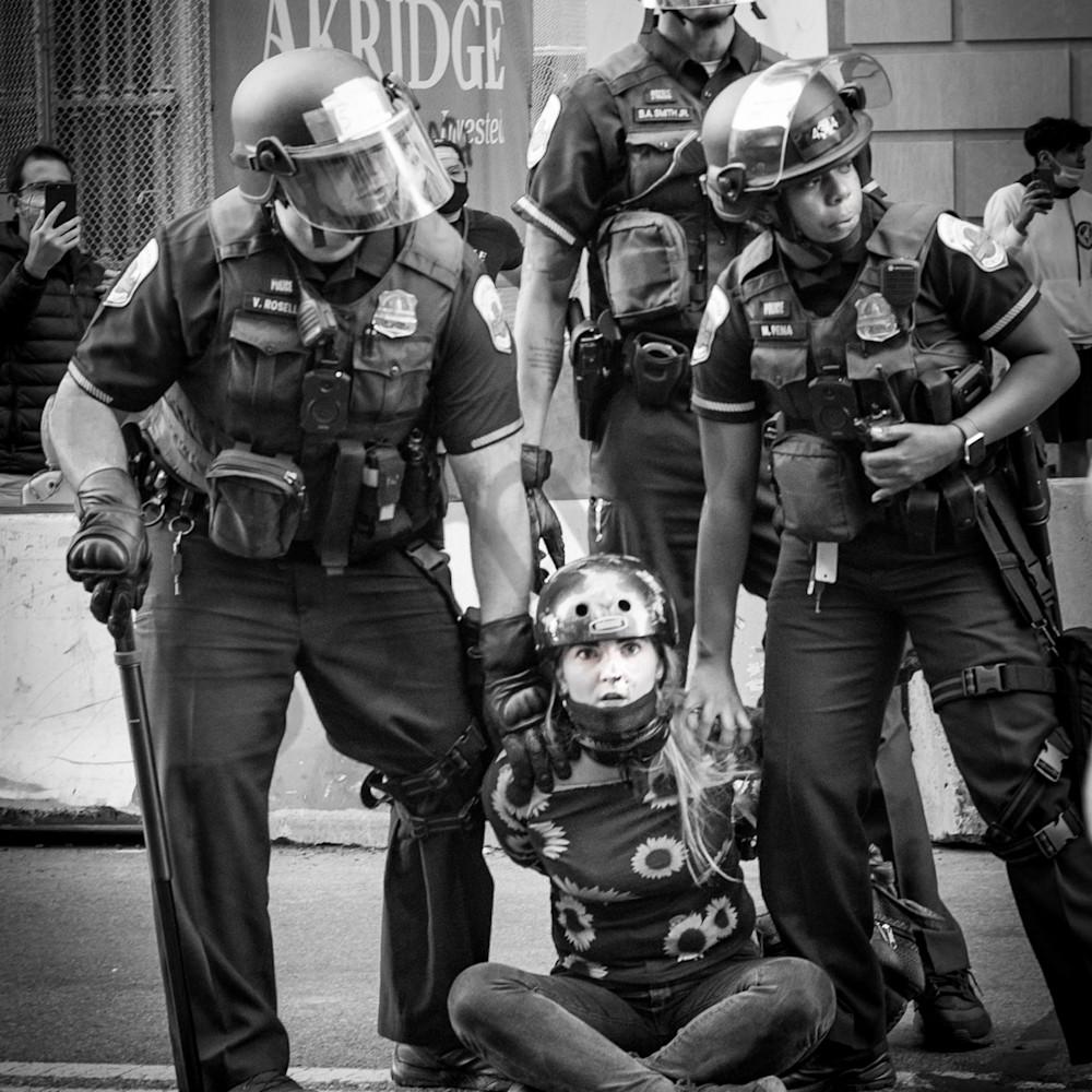 Arrested girl g3pfie