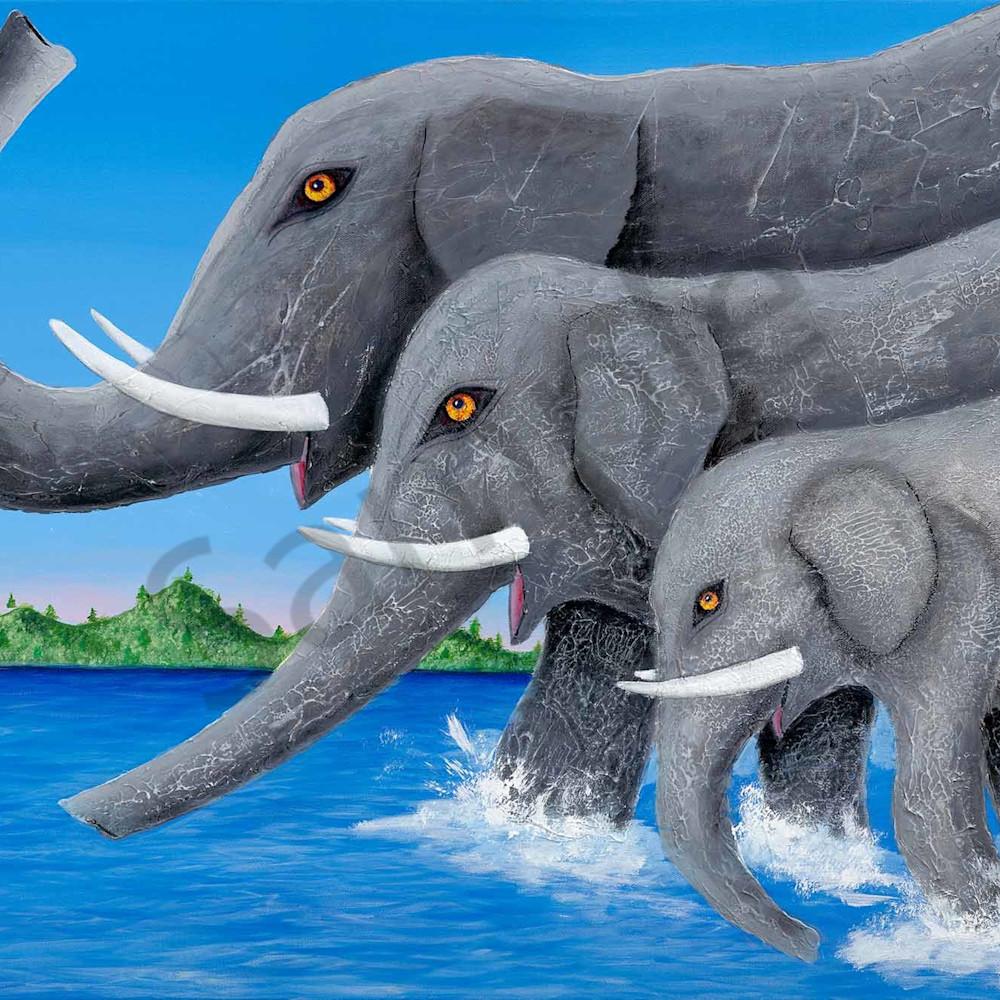 Glenn russell 008 elephants crossing the river 2000px u1oepp