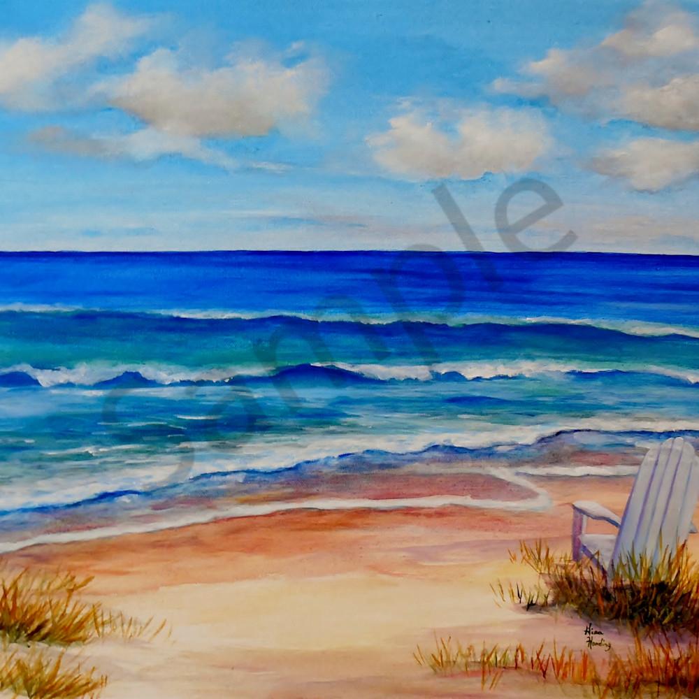 Seaside beach chair by gina harding xdre50