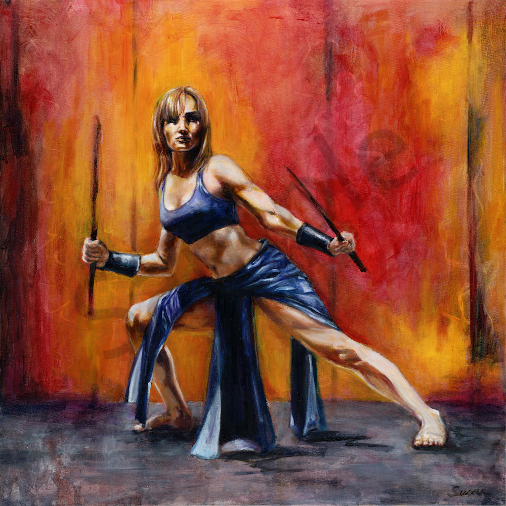 Woman arise   take up your sword by susan gelt garcia a3oa8c