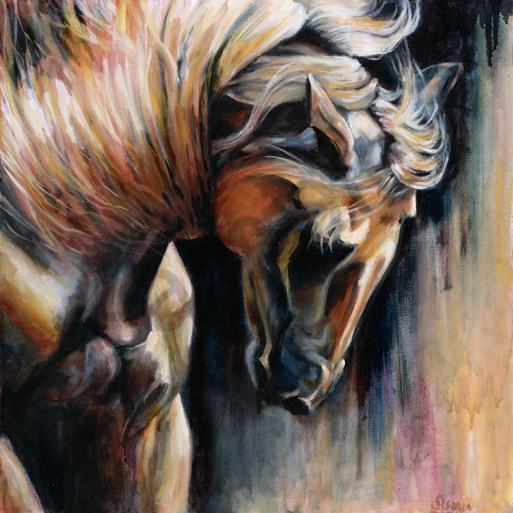 Battle horse by susan gelt garcia am8ata