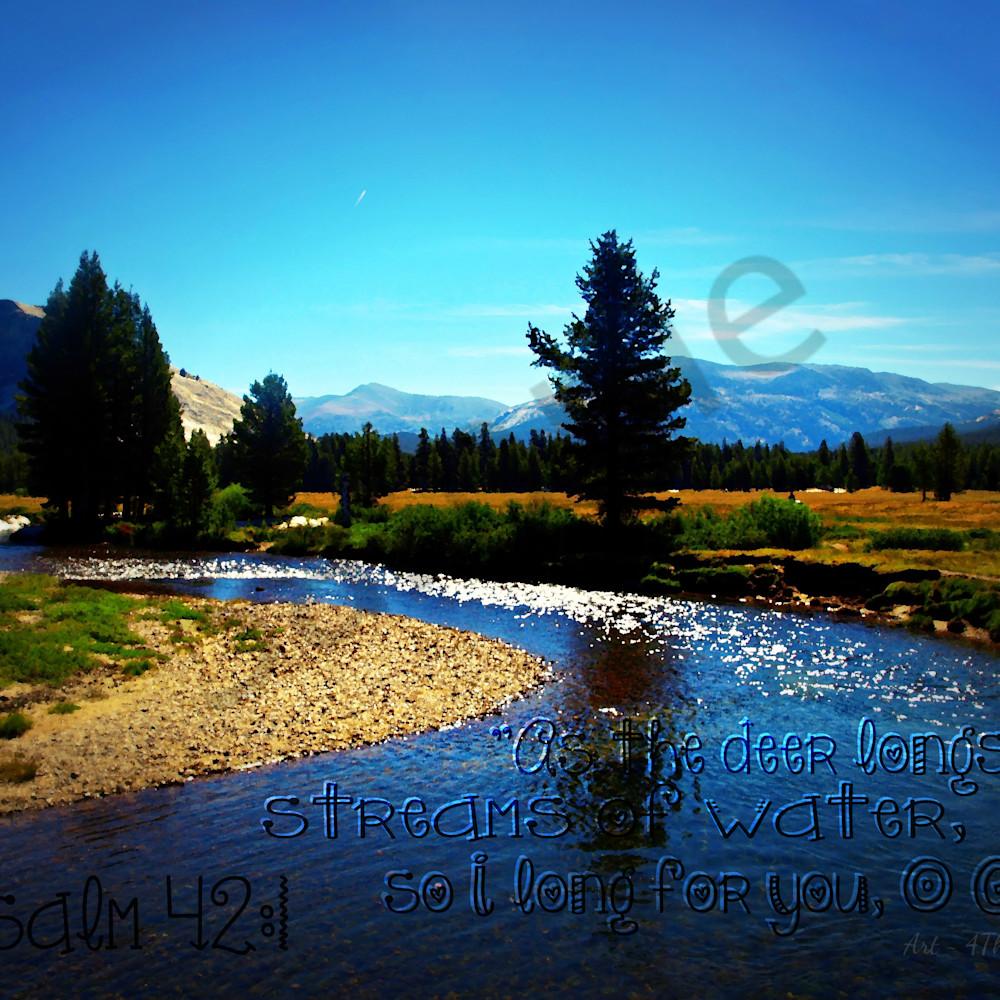 As the deer long for streams of water   p7119375 river in tuolumne meadow yosemite   lomo effect nr   paint tag lvmnr8