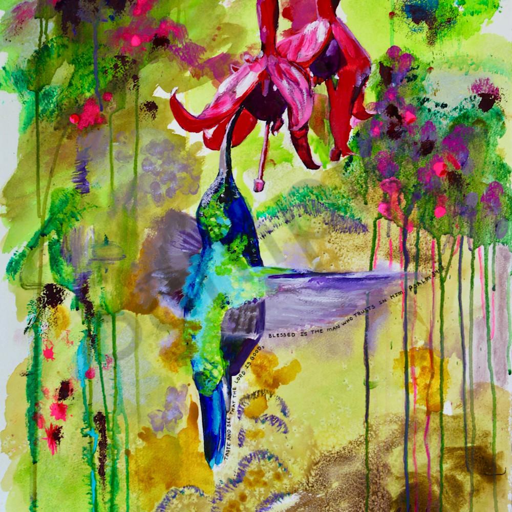 Hummingbird by sharon adams z0kwch