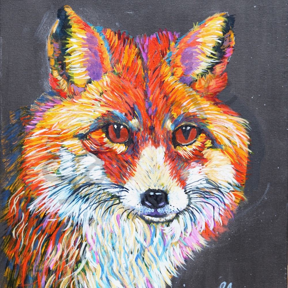 Little foxes by sharon adams q89r9h