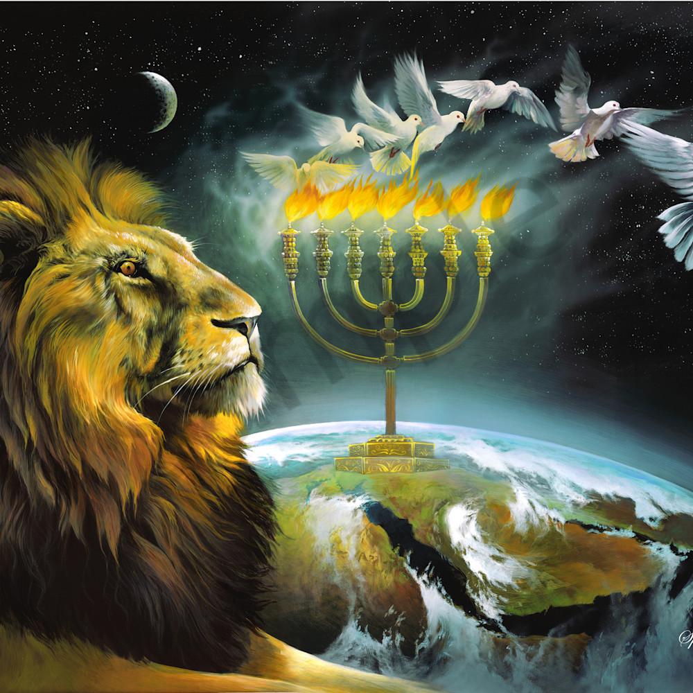 Arise shine   menorah by spencer williams t9uugy