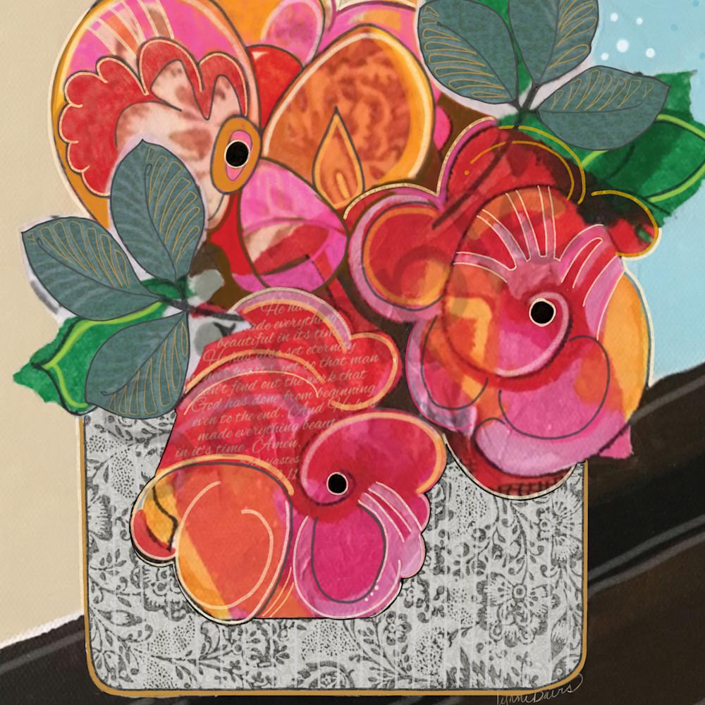 Red peonies by lynne davis npncw7