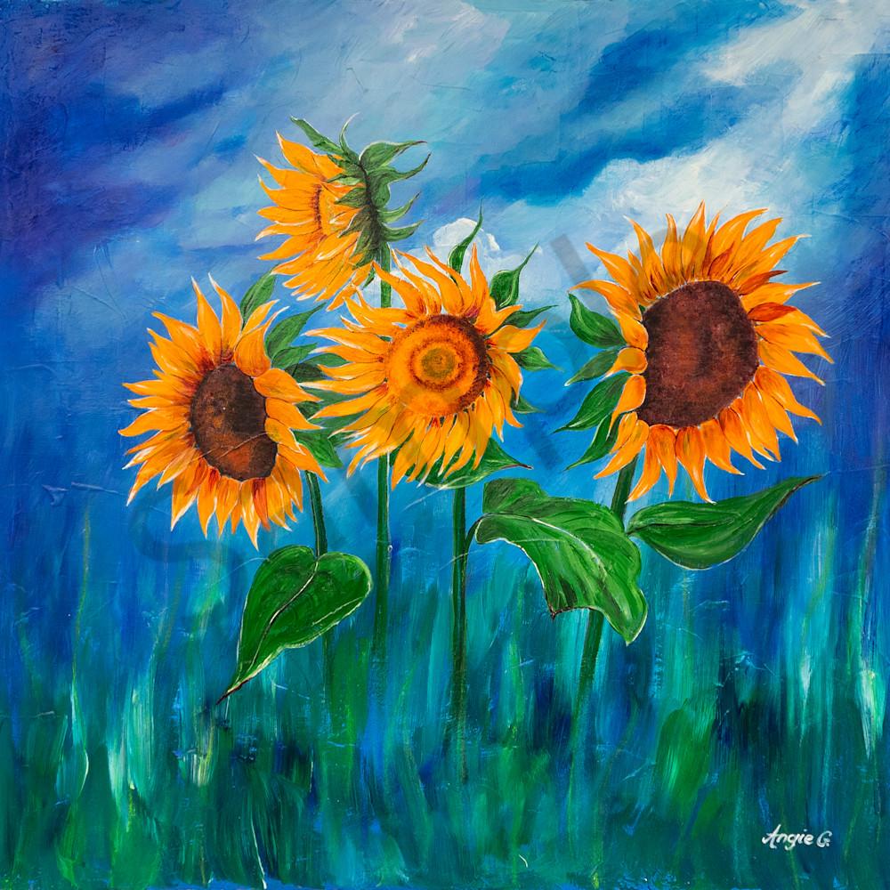 Sunflowers by angela gu%cc%88nther rbcm15