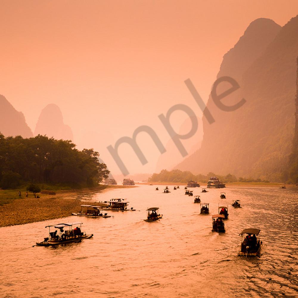 Li river in guilin china uaiuuo