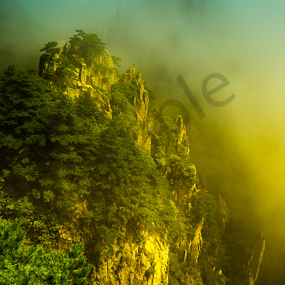 The mountains that inspired avatar in huangshan china nueaas