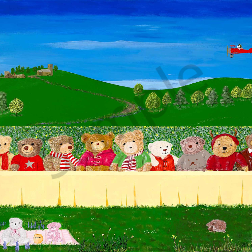 Patrick guildford 006 teddy bears last supper 2000px mikccz