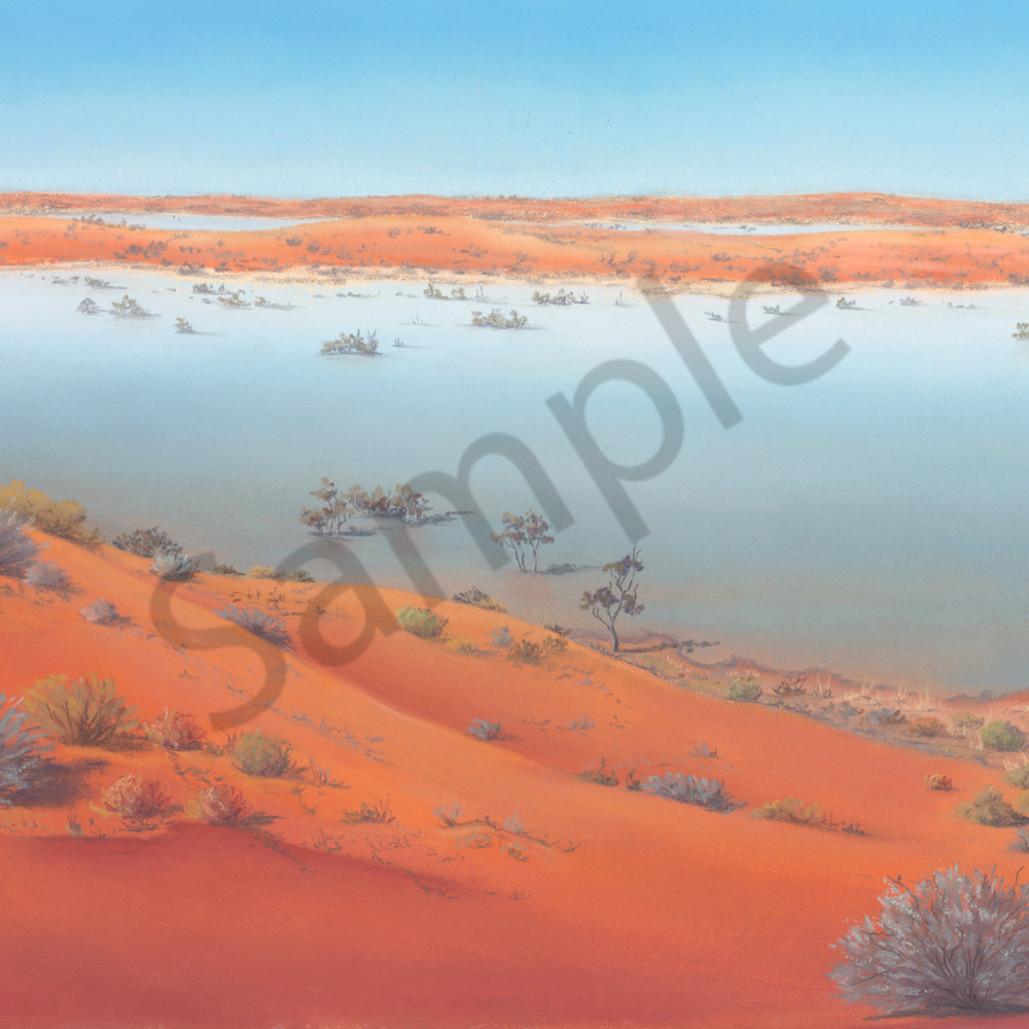 Jgre 058 water between the dunes 35x68cm original laxrli