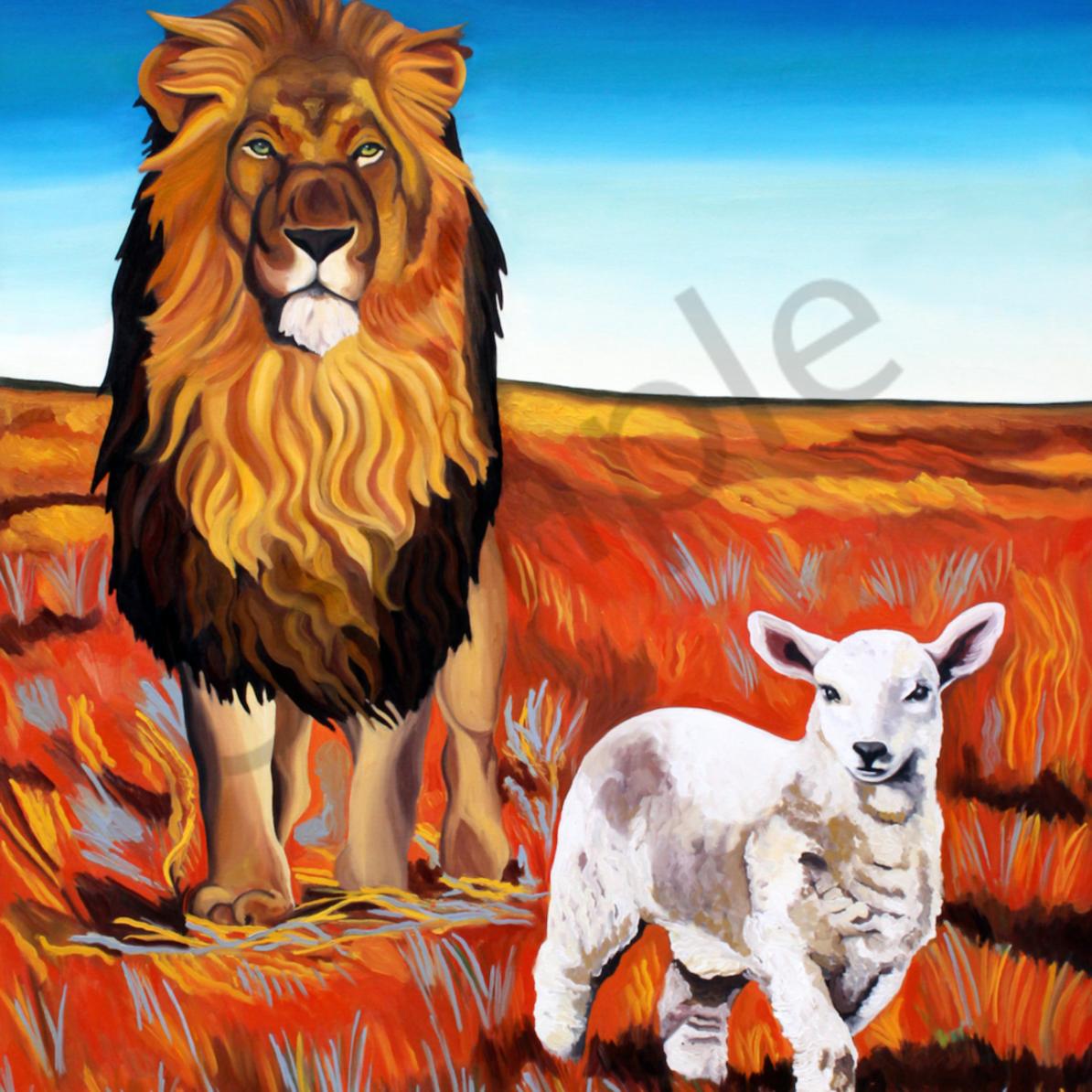 Capture the lamb and the lion by daniel zamitiz ceyv93
