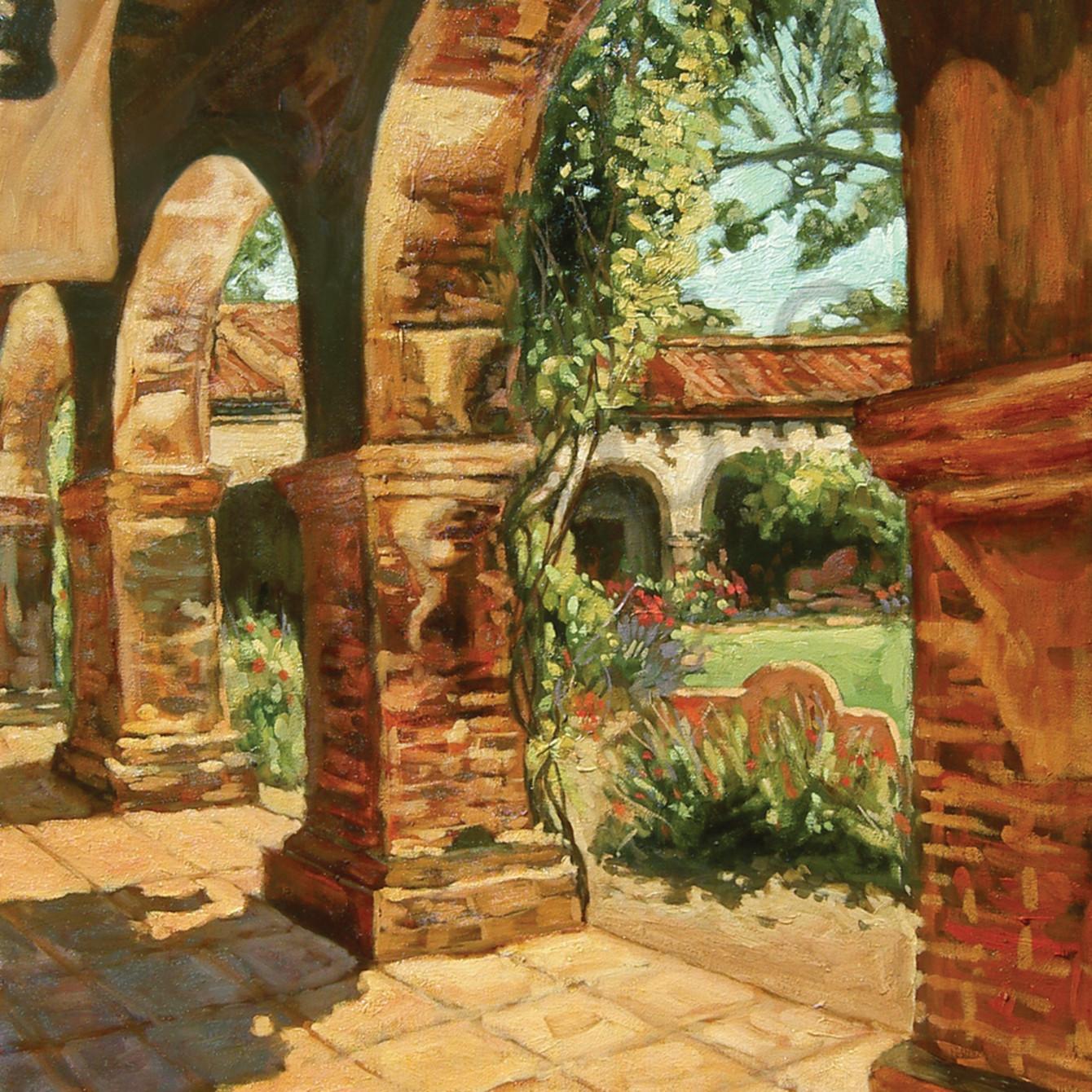 Mission courtyard jpmyhr