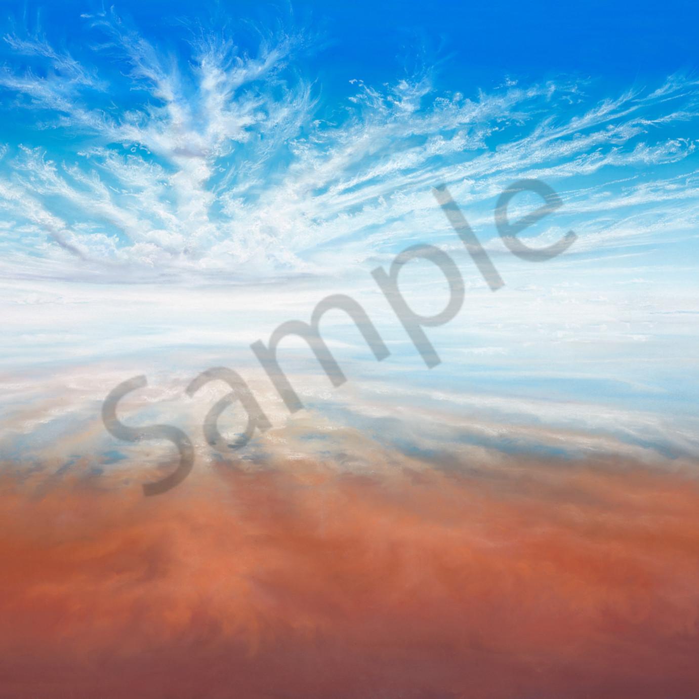 Jgre 049 lake eyre mystery 67x97cm original sqhmuk