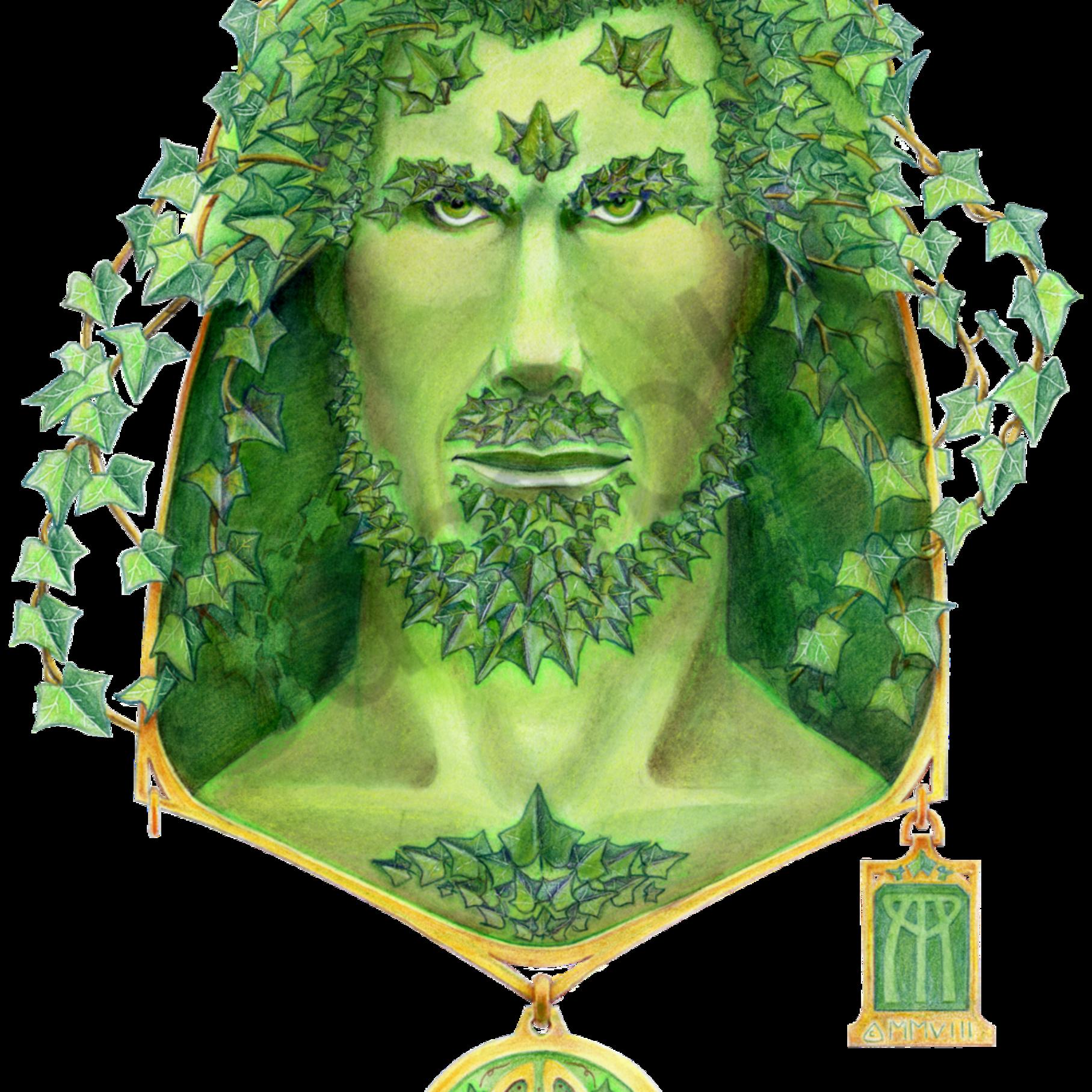 Green man ivy vds3ms