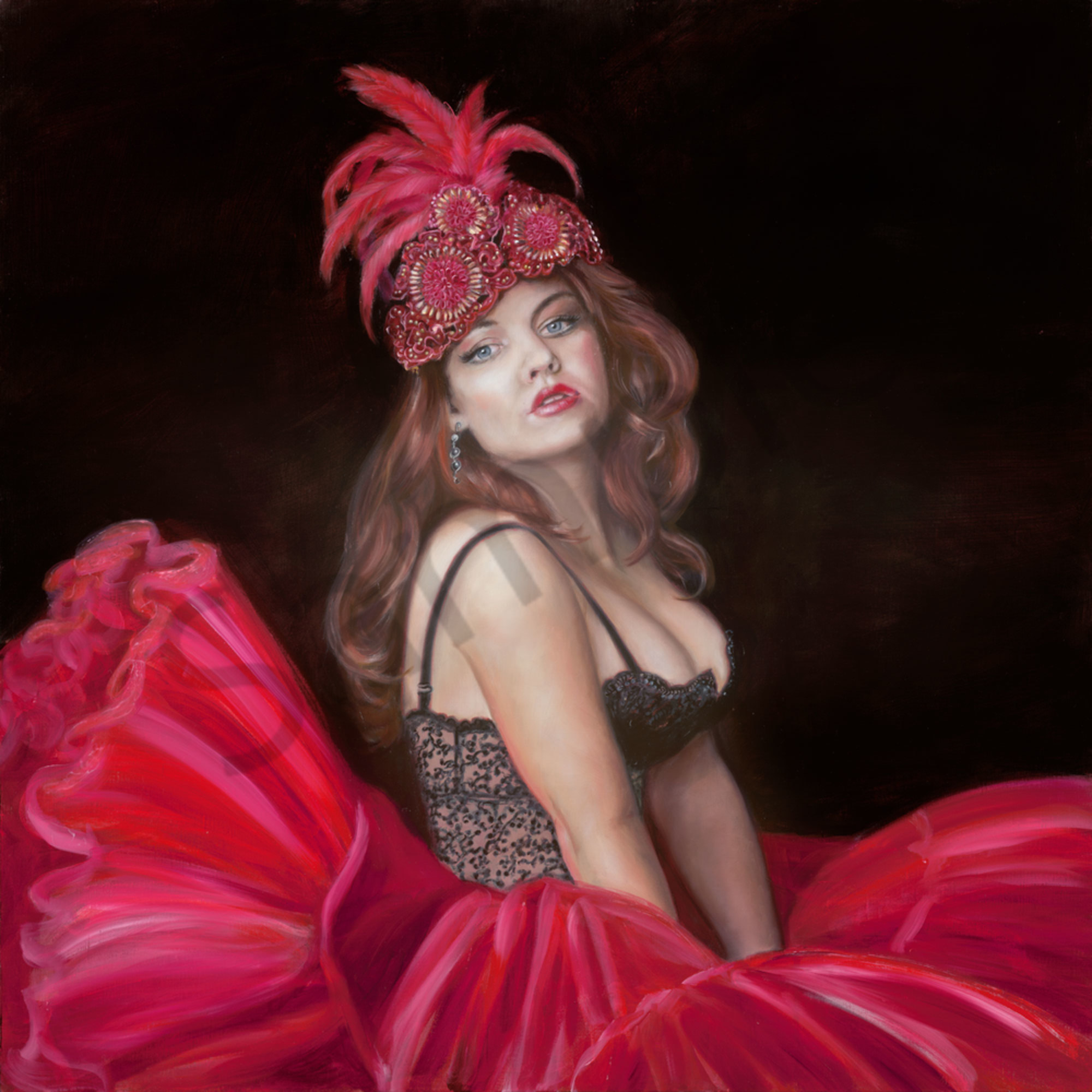 Clew 002 moulin rouge 90x90cm ro8zi3