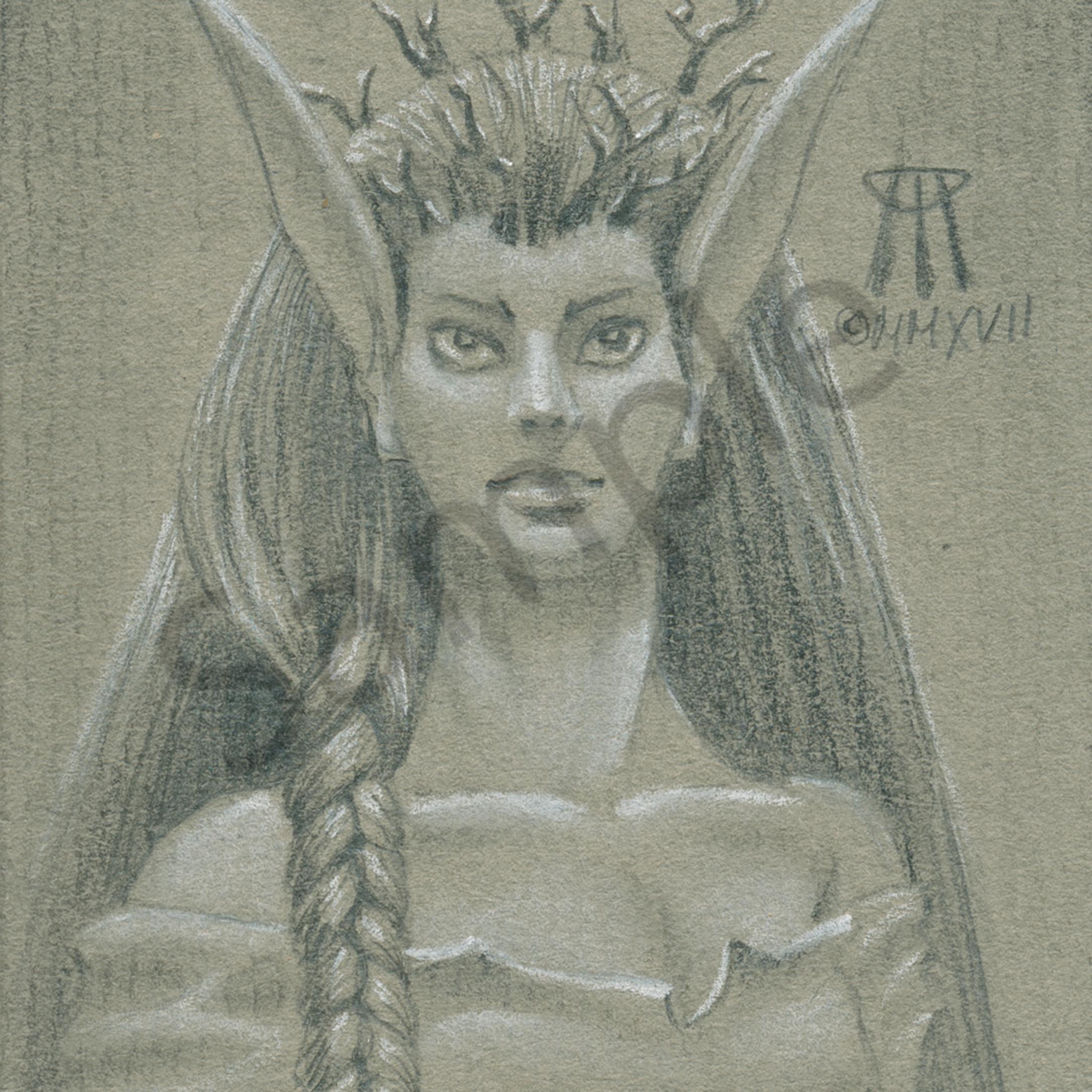 Norwood priestess half tone c3dmej