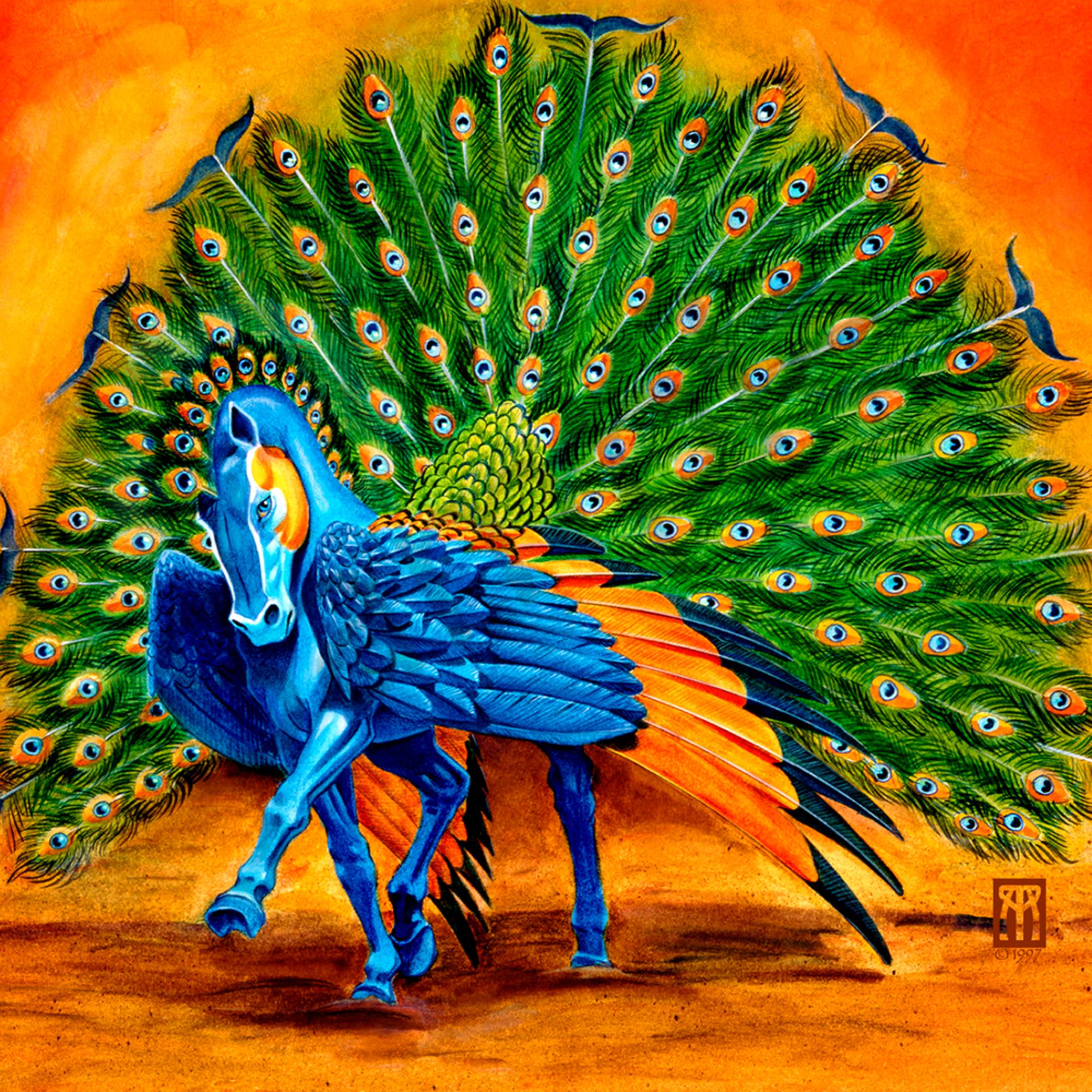 Peacock pegasus u5nksi