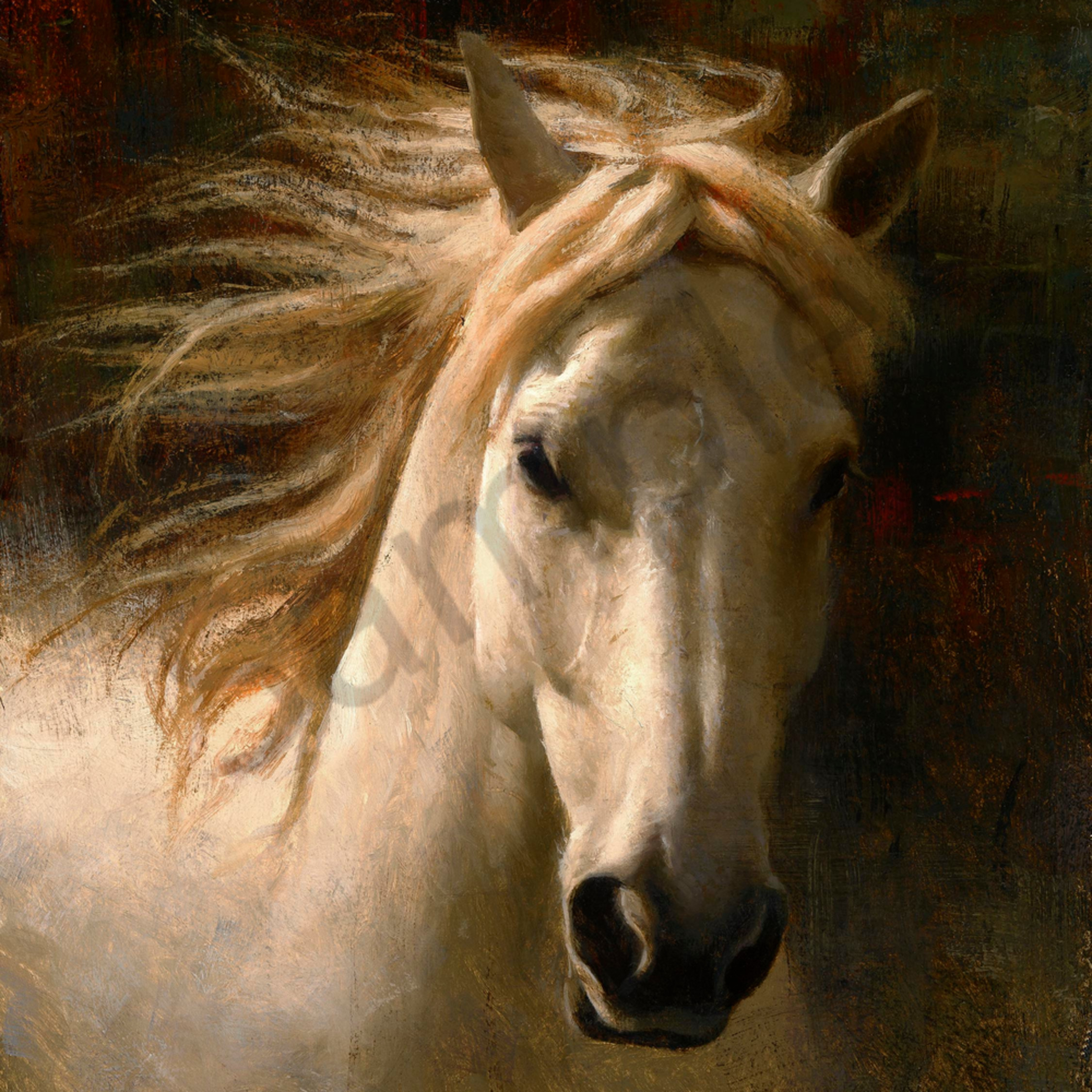 Golden Boy Southwest Art Tucson Gallery Horse Painting