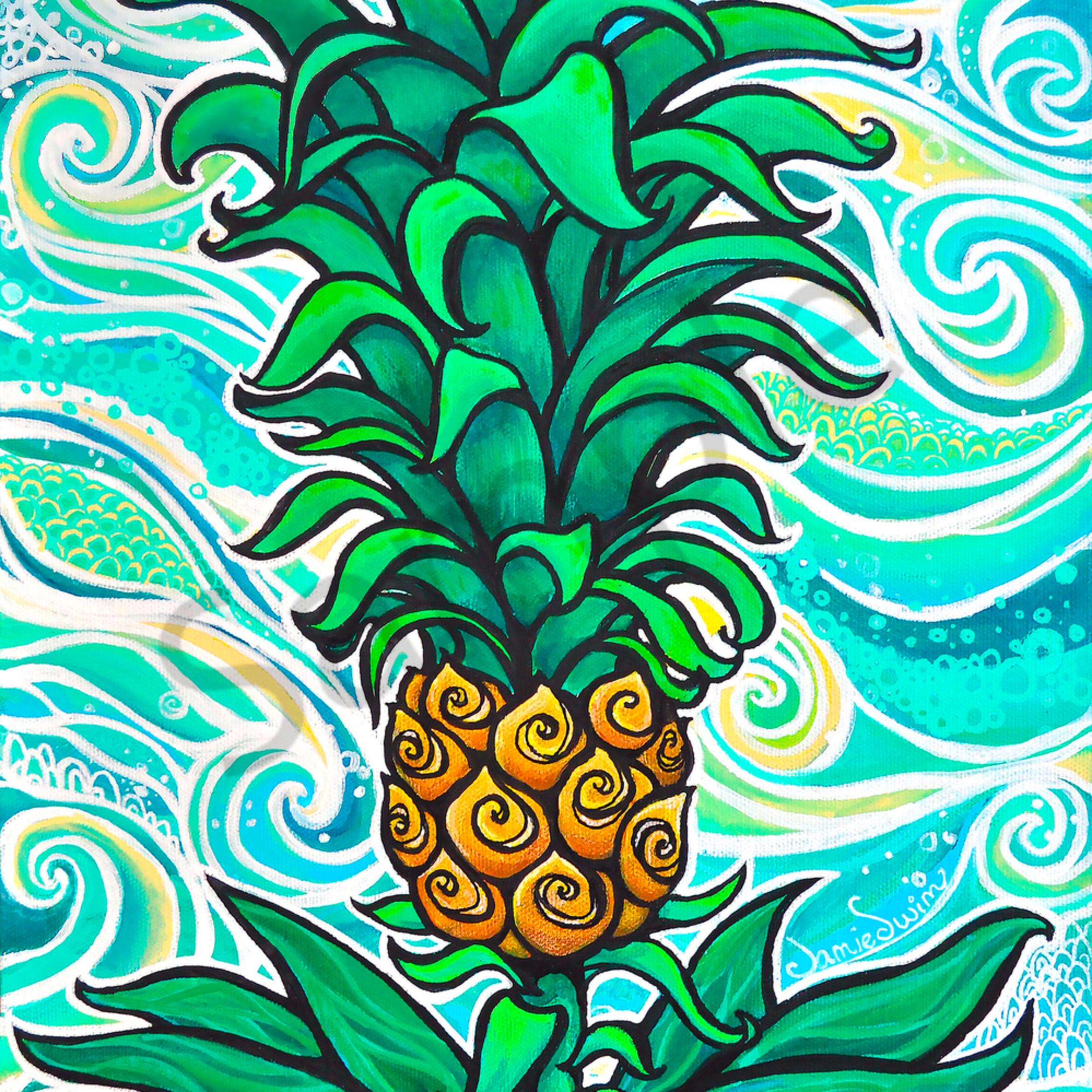 Ai swim pineapple baby pp s1nd4p