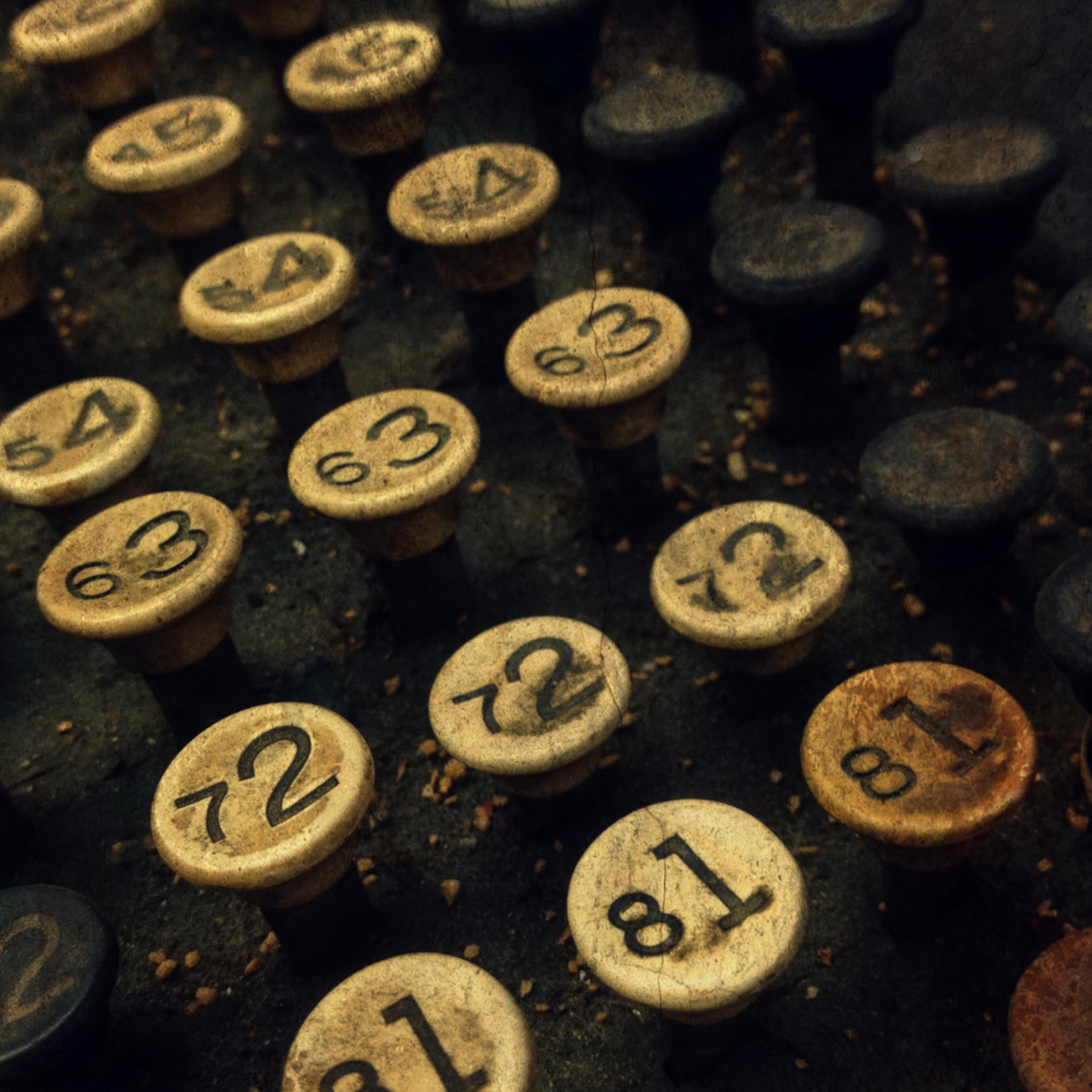 Antique typewriter wprwhs
