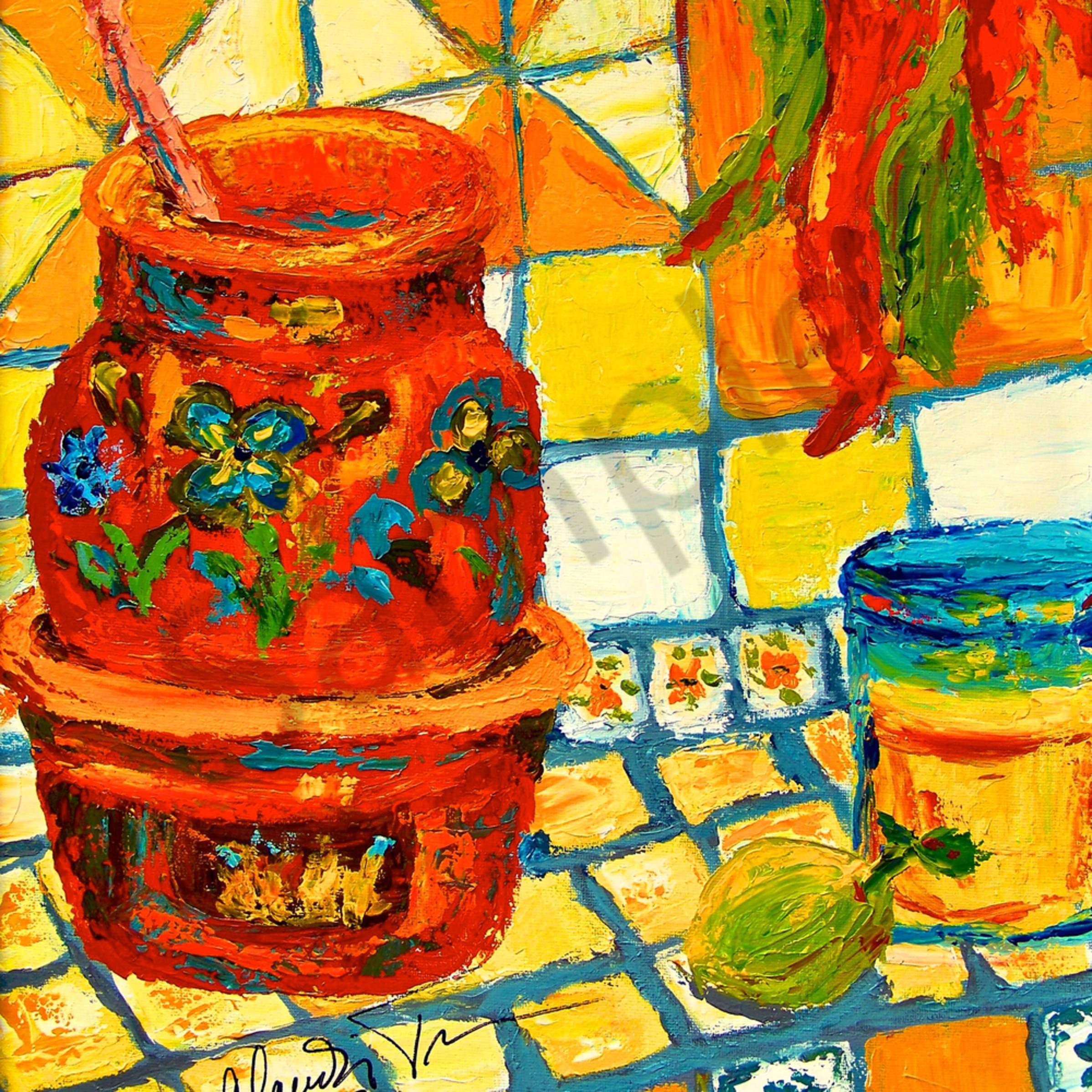 Mexican chili pot tcgp3t