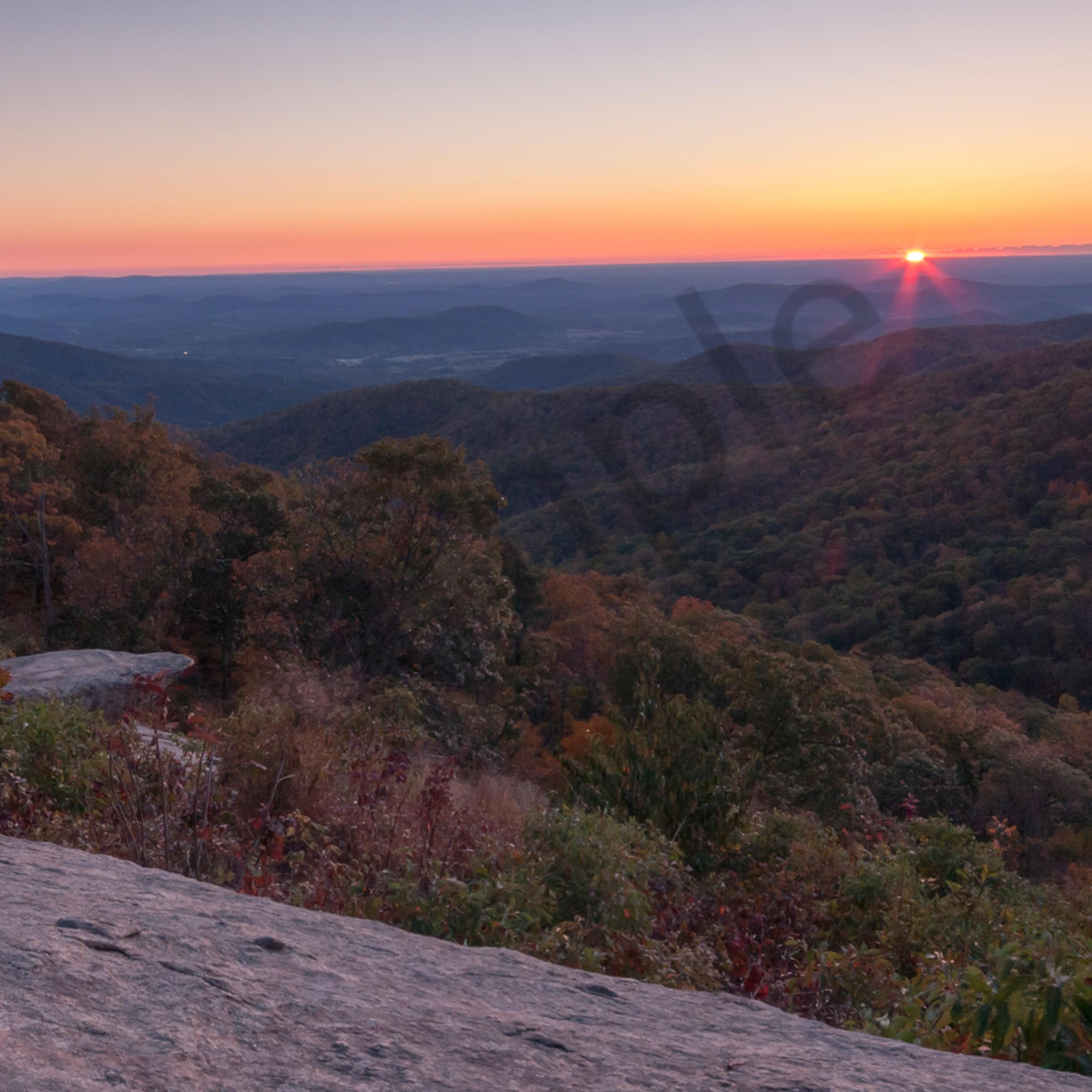 Shenandoah sunrise c ndboyh