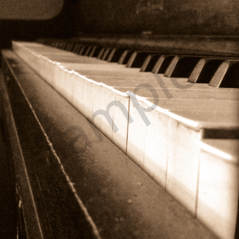Vintage piano keys wvjjjl