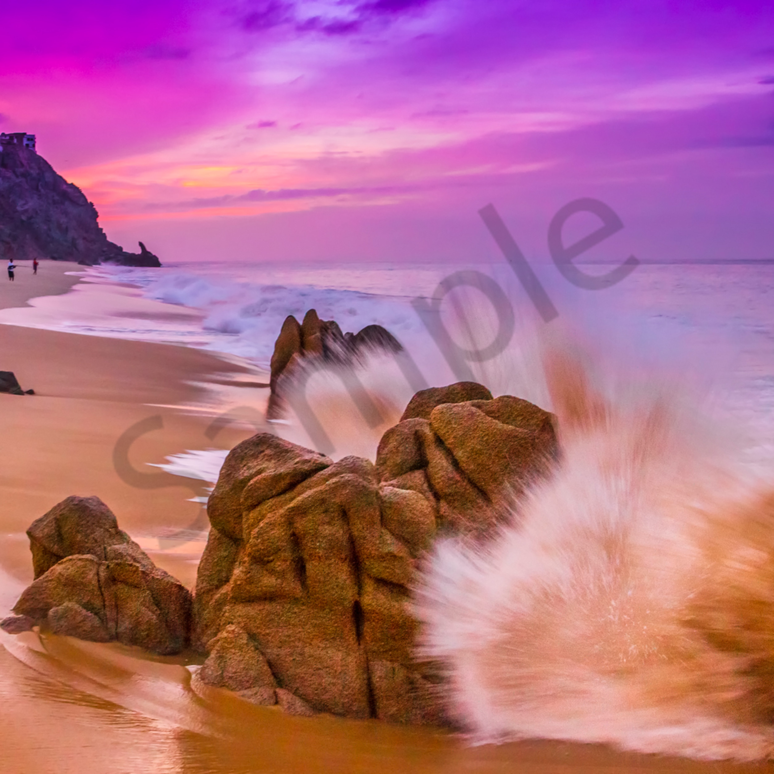 Cabo sunrise looewq