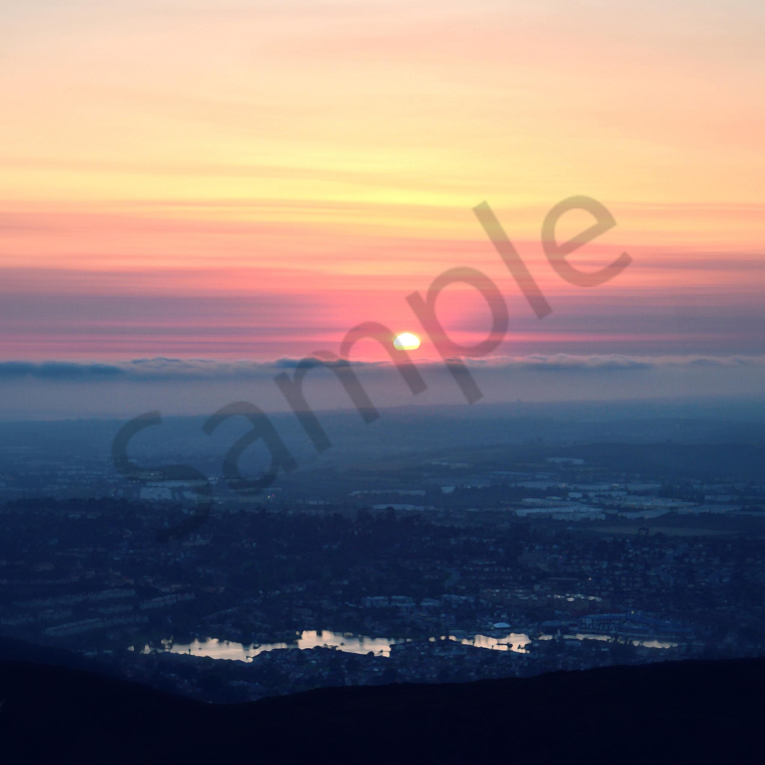 Sts 1622 double peak park sunset 2017   ps paint daubs rh tag  susan effect highlight soft focal vlbhxz