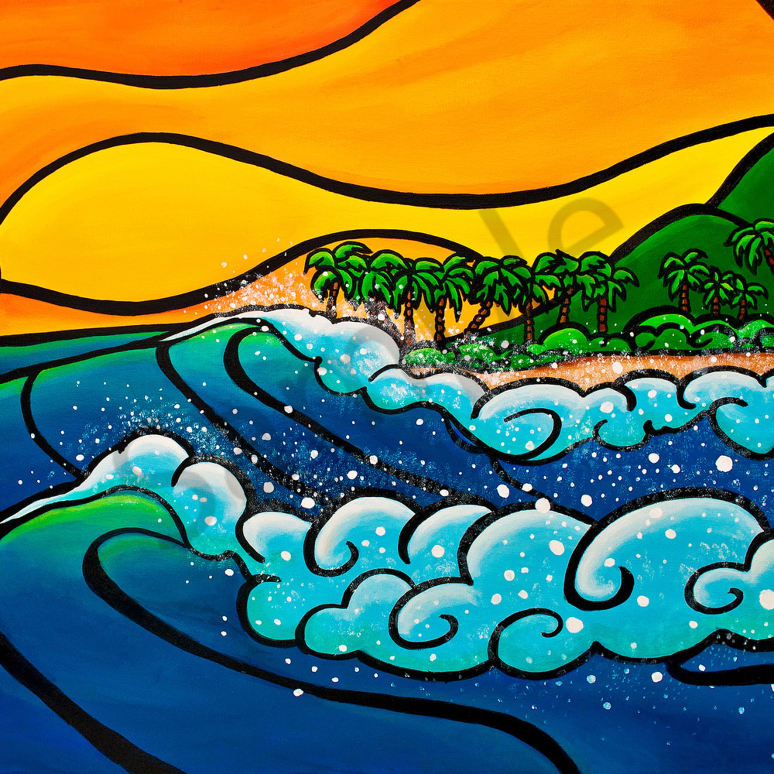 Ai swim sunset surfspray wvxp8b