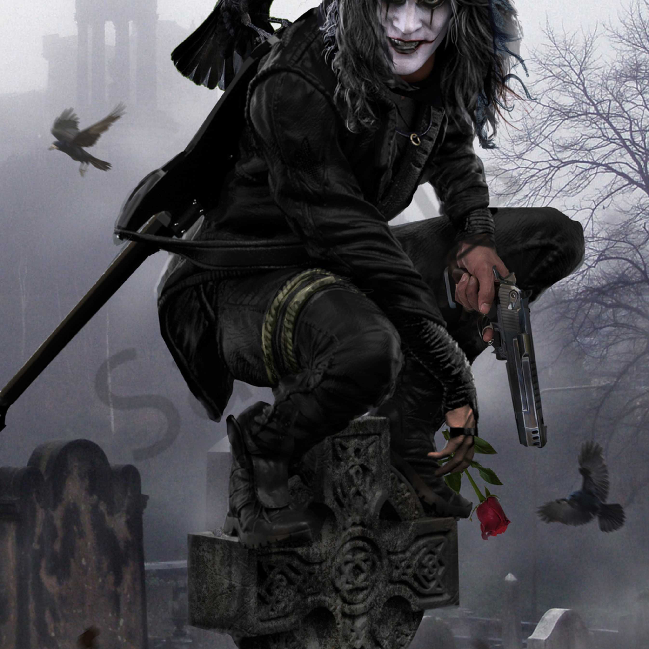 The crow hqs1e8